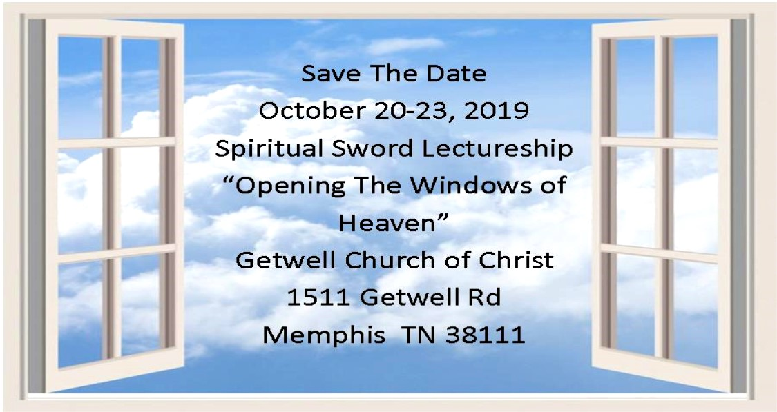 SpiritualSwordLectureshipWindows2019 - Getwell Home Page Graphics